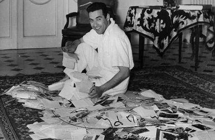 Mariano et les lettres de ses fans